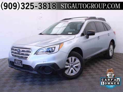 2017 Subaru Outback for sale at STG Auto Group in Montclair CA