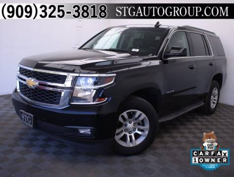 2016 Chevrolet Tahoe for sale at STG Auto Group in Montclair CA