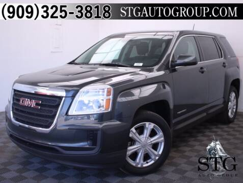 2017 GMC Terrain for sale at STG Auto Group in Montclair CA