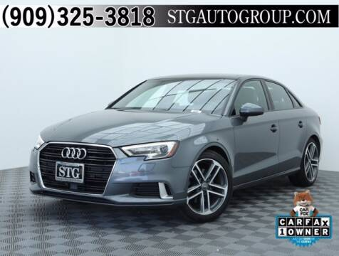 2018 Audi A3 for sale at STG Auto Group in Montclair CA