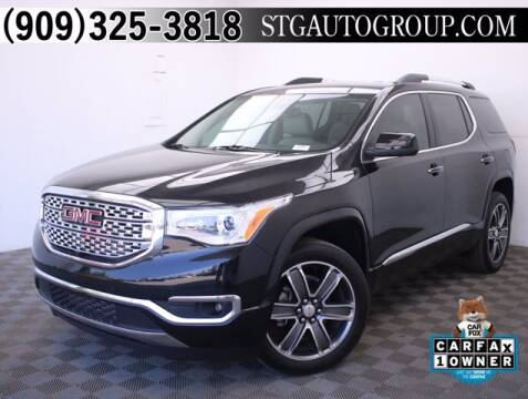 2017 GMC Acadia for sale at STG Auto Group in Montclair CA