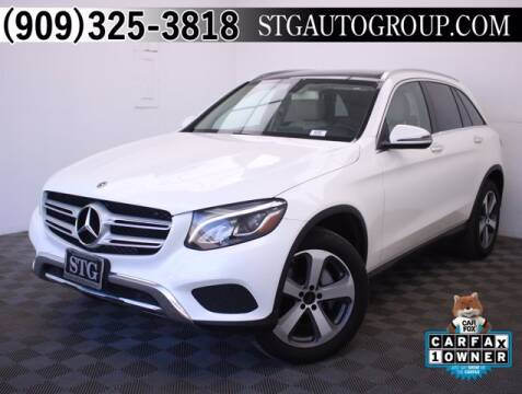 2017 Mercedes-Benz GLC for sale at STG Auto Group in Montclair CA