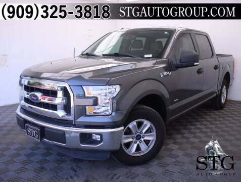 2015 Ford F-150 for sale at STG Auto Group in Montclair CA