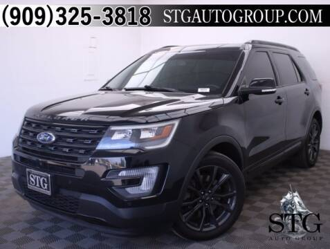 2016 Ford Explorer for sale at STG Auto Group in Montclair CA