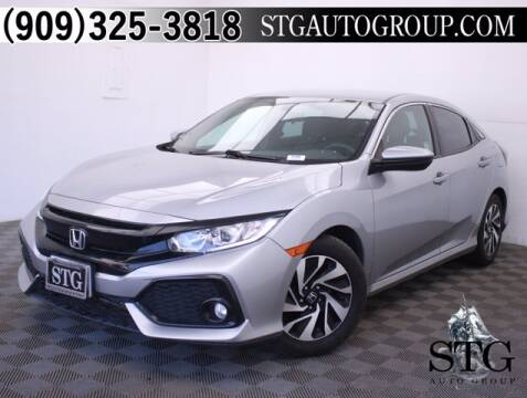 2017 Honda Civic for sale at STG Auto Group in Montclair CA
