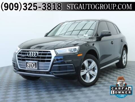 2018 Audi Q5 for sale at STG Auto Group in Montclair CA