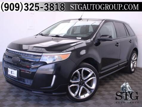 2012 Ford Edge for sale at STG Auto Group in Montclair CA