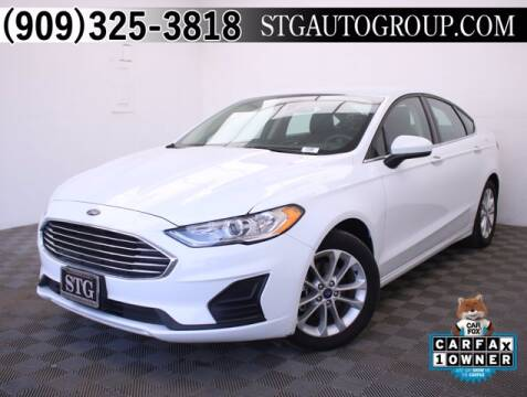 2019 Ford Fusion for sale at STG Auto Group in Montclair CA
