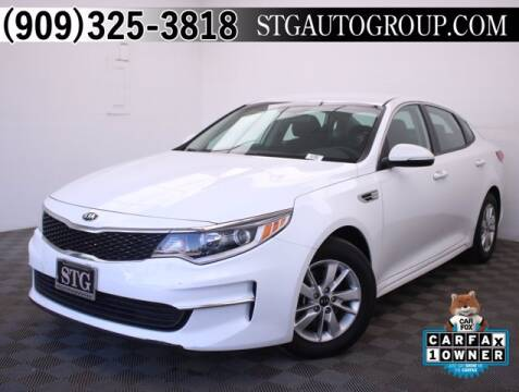 2017 Kia Optima for sale at STG Auto Group in Montclair CA