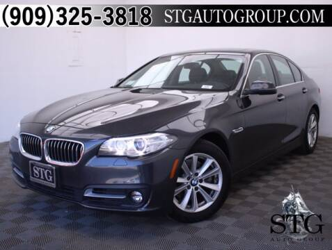 2016 BMW 5 Series for sale at STG Auto Group in Montclair CA