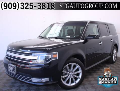 2019 Ford Flex for sale at STG Auto Group in Montclair CA