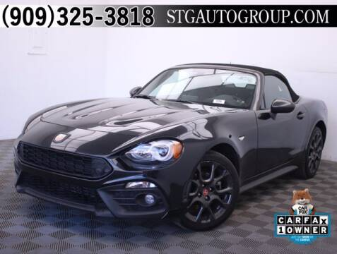 2017 FIAT 124 Spider for sale at STG Auto Group in Montclair CA