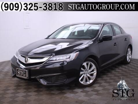 2016 Acura ILX for sale at STG Auto Group in Montclair CA