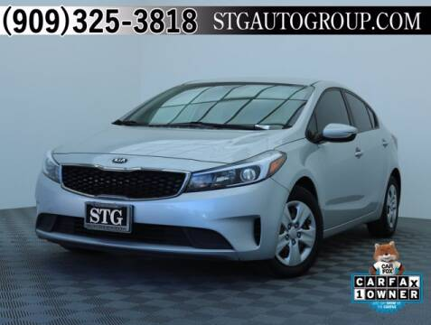 2017 Kia Forte for sale at STG Auto Group in Montclair CA