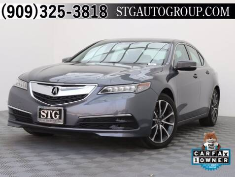 2017 Acura TLX for sale at STG Auto Group in Montclair CA