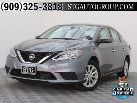 2018 Nissan Sentra for sale at STG Auto Group in Montclair CA