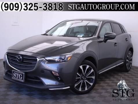 2019 Mazda CX-3 for sale at STG Auto Group in Montclair CA
