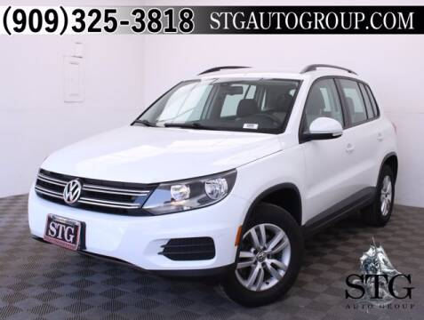 2017 Volkswagen Tiguan for sale at STG Auto Group in Montclair CA