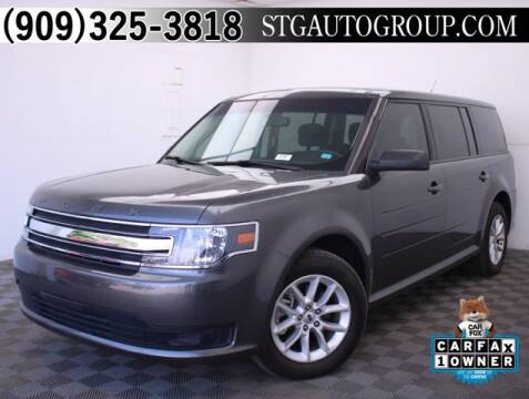 2018 Ford Flex for sale at STG Auto Group in Montclair CA