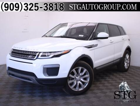 2016 Land Rover Range Rover Evoque for sale at STG Auto Group in Montclair CA