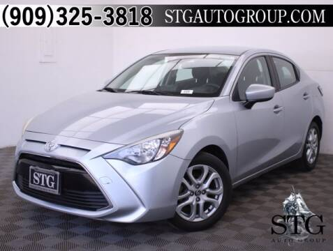 2017 Toyota Yaris iA for sale at STG Auto Group in Montclair CA