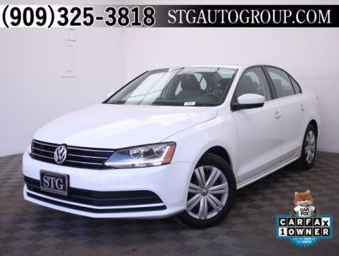 2017 Volkswagen Jetta for sale at STG Auto Group in Montclair CA