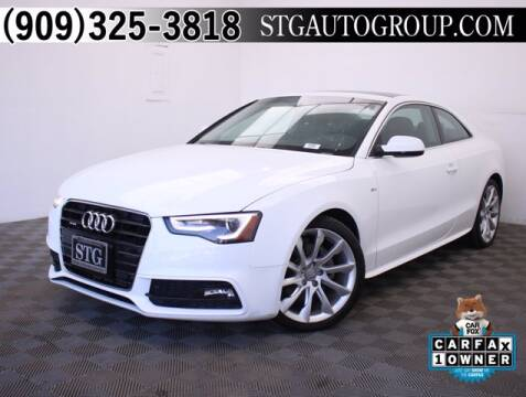 2016 Audi A5 for sale at STG Auto Group in Montclair CA
