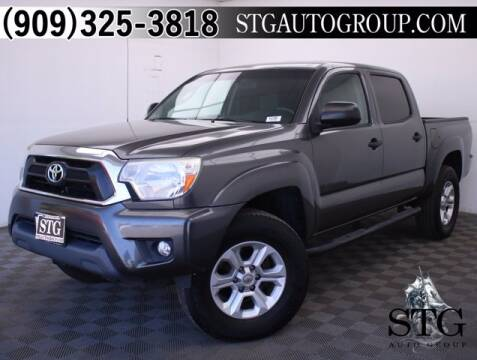 2014 Toyota Tacoma for sale at STG Auto Group in Montclair CA