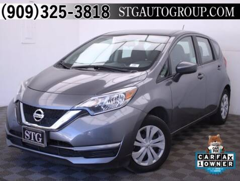 2018 Nissan Versa Note for sale at STG Auto Group in Montclair CA