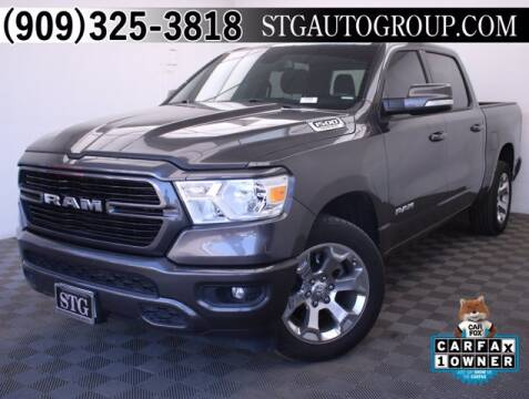 2019 RAM Ram Pickup 1500 for sale at STG Auto Group in Montclair CA