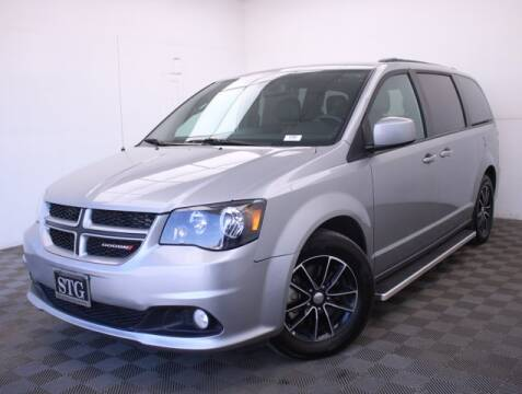 2018 Dodge Grand Caravan for sale at STG Auto Group in Montclair CA