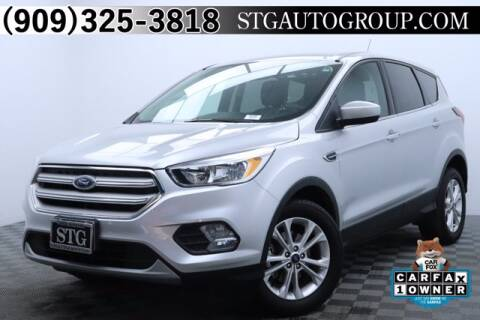 2019 Ford Escape for sale at STG Auto Group in Montclair CA