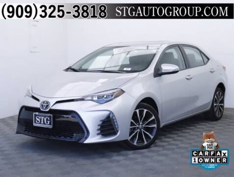 2017 Toyota Corolla for sale at STG Auto Group in Montclair CA