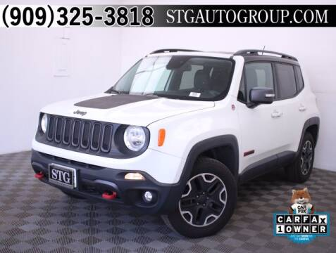 2016 Jeep Renegade for sale at STG Auto Group in Montclair CA