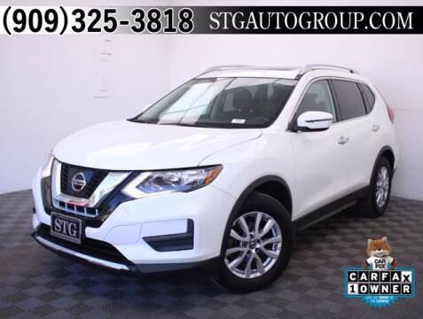 2017 Nissan Rogue for sale at STG Auto Group in Montclair CA