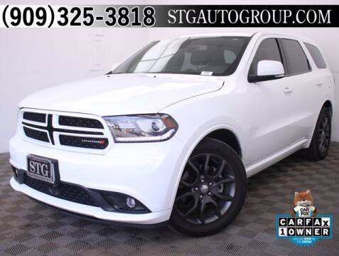 2017 Dodge Durango for sale at STG Auto Group in Montclair CA