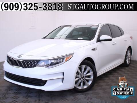 2018 Kia Optima for sale at STG Auto Group in Montclair CA