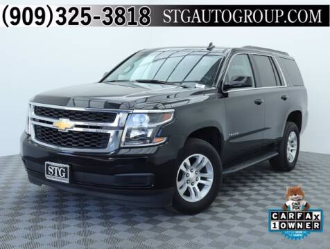 2019 Chevrolet Tahoe for sale at STG Auto Group in Montclair CA