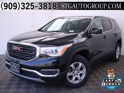 2018 GMC Acadia for sale at STG Auto Group in Montclair CA