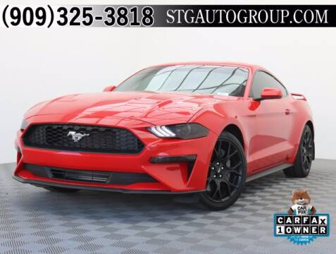 2019 Ford Mustang for sale at STG Auto Group in Montclair CA