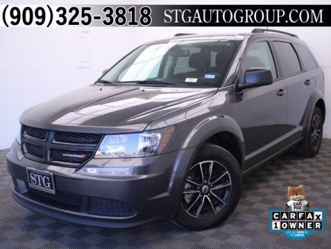 2018 Dodge Journey for sale at STG Auto Group in Montclair CA