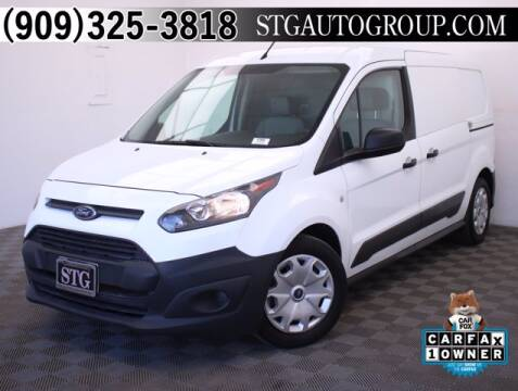 2017 Ford Transit Connect Cargo for sale at STG Auto Group in Montclair CA