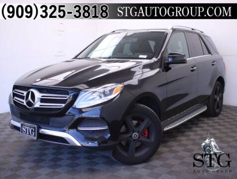 2016 Mercedes-Benz GLE for sale at STG Auto Group in Montclair CA