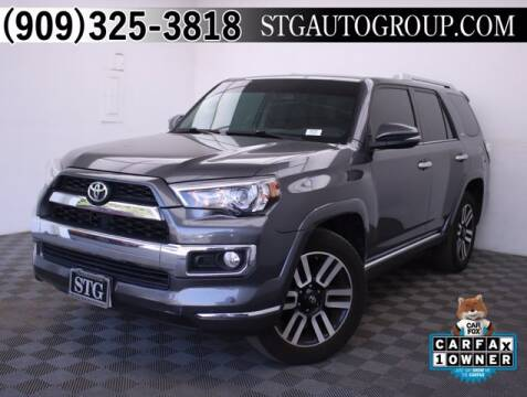 2016 Toyota 4Runner for sale at STG Auto Group in Montclair CA