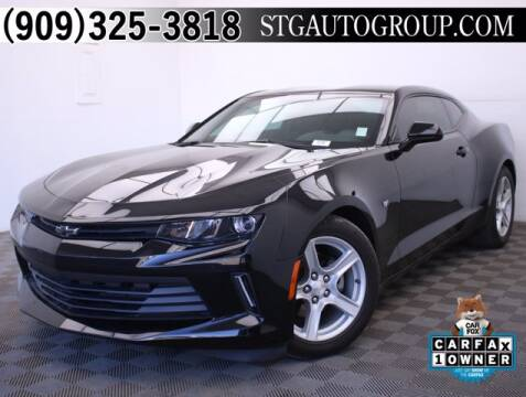 2016 Chevrolet Camaro for sale at STG Auto Group in Montclair CA