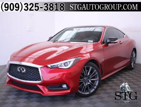 2017 Infiniti Q60 for sale at STG Auto Group in Montclair CA