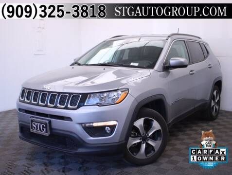 2018 Jeep Compass for sale at STG Auto Group in Montclair CA