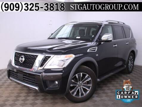 2019 Nissan Armada for sale at STG Auto Group in Montclair CA