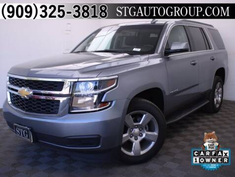 2018 Chevrolet Tahoe for sale at STG Auto Group in Montclair CA