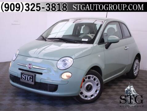 2015 FIAT 500 for sale at STG Auto Group in Montclair CA